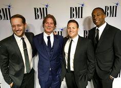 @bmi #awards #bmifilmtvawards #bmiawards #bmi #jermainestegall with #theoutfit Zach Hexum, Michael Corcoran, Eric Goldman, Jermaine Stegall