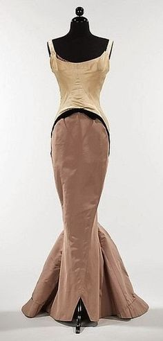 "1957 Charles James  ""Diamond"" gown                              …"