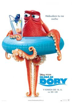 """The sequel of """"Finding Nemo"""" is here with another adventurous story based on Dory. So here we are with this post of Finding Dory Poster Collection Hank Finding Dory, Disney Pixar, Disney And Dreamworks, Disney Art, Disney Magic, Walt Disney, Pixar Movies, Disney Movies, Finding Nemo"""