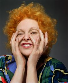 Dame Vivienne Westwood, DBE, RDI (born Vivienne Isabel Swire on 8 April 1941) is an English fashion designer and businesswoman, largely responsible for bringing modern punk and new wave fashions into the mainstream.