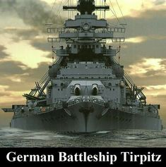 """The battleship that Johnny Red and the Falcons attack is the """"Lutzmark"""", a made up name of the Bismark and Lutzow battleships of the Kriegsmarine. Here are some pictures of the Bismark and Tirpitz - similar to the Lutzmark of the storyline Military Art, Military History, Poder Naval, Hms Hood, Naval History, Navy Ships, Ship Art, Aircraft Carrier, War Machine"""