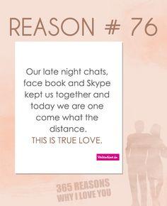 Reason why I love you # 76
