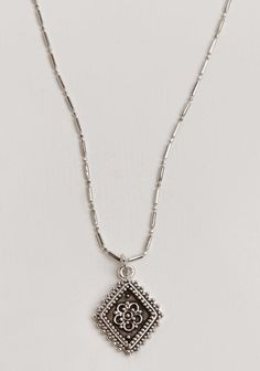 at threadsence // Diamond Lace Necklace