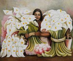 Vendedora de Alcaltrazes Diego Rivera