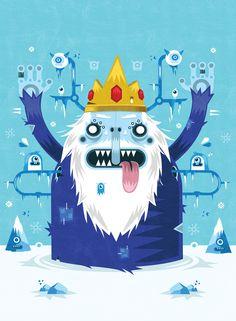 Adventure Time: Ice King! - Yema Yema