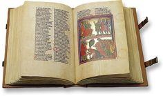 Rudolf von Ems Weltchronik | Der Stricker – Karl der Große - Faksimile Verlag, München -1300s
