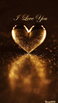 Bella Donna's Heart of Gold! From my beautiful sister, Bella Donna! I Love Heart, Heart Of Gold, Golden Heart, Coeur Gif, Corazones Gif, Animated Heart, Heart Images, Heart Wallpaper, Photo Wallpaper