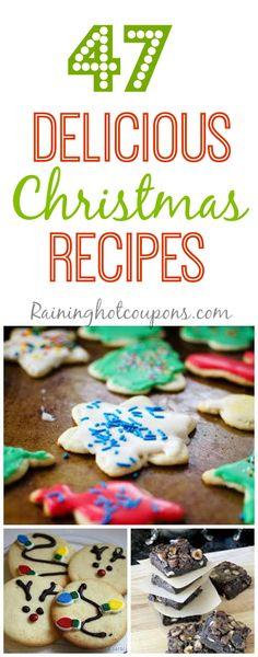 Christmas recipes 47 Delicious Christmas Recipes