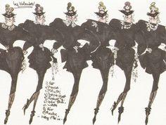 1982-1983 - les voleuses Thierry Mugler sketch