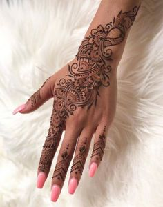 Elegant bridal henna mehndi 15 Trendy Ideas Elegant bridal henna mehndi 15 Trendy IdeasYou can find Henna hands and more on our website.Elegant bridal henna mehndi 15 T. Henna Tattoo Designs, Henna Style Tattoos, Tattoo Henna, Paisley Tattoos, Tribal Hand Tattoos, Henna Inspired Tattoos, Mandala Hand Tattoos, Small Henna Tattoos, Design Tattoos