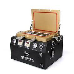 Станок 5 в 1 вакуумный ламинатор, автоклав, встроенная помпа, встроенный компрессор TBK-408  Станок 5 в 1 вакуумный ламинатор, автоклав, встроенная помпа, встроенный компрессор TBK-408