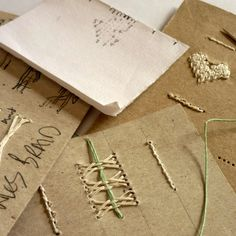Kate Bowles Books : New Stitches .... #bookbinding