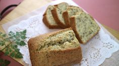 Black tea butter cake 紅茶のバターケーキ 紅茶好きなら好き!