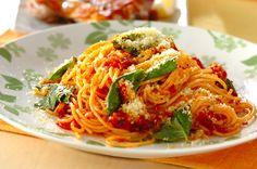基本のトマトソースパスタ #recipe