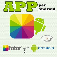 Rendi le tue foto sensazionali! - App per Android http://graficscribbles.blogspot.it/2015/07/aap-android-fotoritocco-filtri-corniciapplicazioni.html
