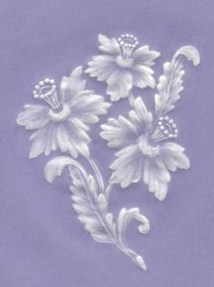 brush embroidery flower template - Google Search                                                                                                                                                     More