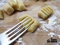 Gnocchis de batata caseiros - Receita passo-a-passo da massa