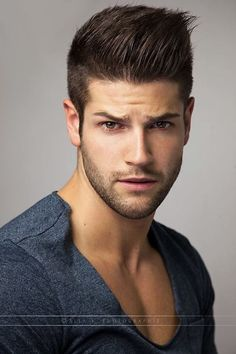 Pretty simple nice men hairstyle