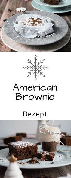 -Anzeige- #Weihnachten steht vor der Tür und wie jedes Jahr fragen wir uns, was es zum #Essen an #Heiligabend geben wird. Das Menü haben wir bereits ausgesucht und als #Weihnachtsdessert wird es #Brownies geben. Aber keine herkömmlichen Brownies, sondern American Brownies mit #Vanillejoghurt. Schnell, einfach und lecker.