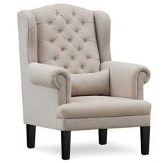 Wing Chairs, Wingback Chairs, Armchair, Wooden Street, Cream Colour, Kochi, Jodhpur, L Shape, Kolkata