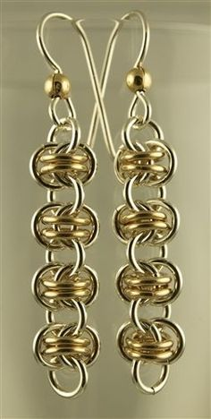 Barrel Weave Earrings - Not sure if I could ever make something like this, but they sure are gorgeous!