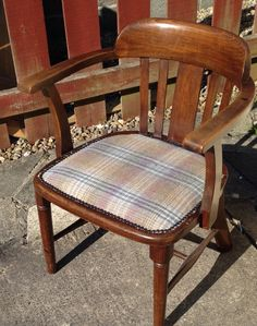 The Pursers Chair - this chair came in with no seat at all new webbing etc just a few odd threads to trim and it's all ship shape - no longer a Antique Sofa, Shipwreck, Dining Chairs, Shape, Antiques, Furniture, Home Decor, Antique Couch, Antiquities