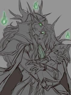 Made In Hell World Of Warcraft 3, Warcraft Art, Fantasy Races, Fantasy Art, Blood Elf, Night Elf, Elves, Amazing Art, Digital Art