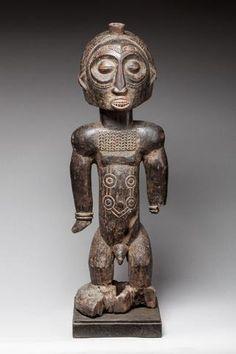 Effigie d'ancêtre masculin, Boyo, nord des régions Luba, République