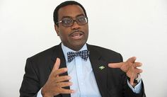 Dr. Akinwumi Adesina is Nigeria's outgoing Minister of Agriculture and Rural Development