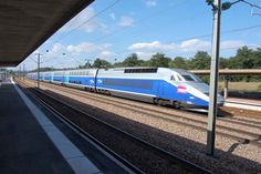 France's TGV – high speed train goes though Southern Burgundy at up to 180 mph. There are many good locations to see a TGV speeding by. What's more all TGVs going to the South of France pass though Southern Burgundy. There are trains every 15-20 minutes.