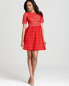 hitapr.com red-dresses-with-sleeves-08 #reddresses