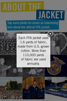 FFA This picture in the lower right, is an Iowa Mennonite Coat being sewn. This was at convention 2012
