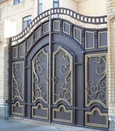 Art. 6 Iron Main Gate Design, Gate Wall Design, Grill Gate Design, House Main Gates Design, Steel Gate Design, Front Gate Design, Pooja Room Door Design, Railing Design, Wrought Iron Security Doors