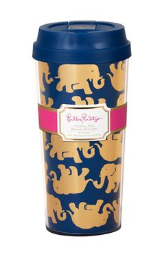 Lilly Pulitzer Thermal Mug- Tusk In The Sun