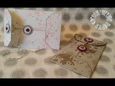 """Tutorial  Vidéo-Tuto """"Enveloppe oeillet"""" par Coul'Heure Papier - YouTube"""