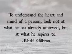 The heart and mind of a person. #Gibran