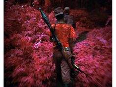 """WATCH: RICHARD MOSSE TALKS HIS NEW INFRARED MULTI-MEDIA INSTALLATION """"THE ENCLAVE"""""""