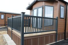 New Premium Foiled Balustrade range now available in Contemporary Anthracite, Golden Oak and Elegant Dark Green with woodgrain finish and warranty. Only the best materials and foils are used in our exclusive products. Post Sleeve, Golden Oak, Railings, Wood Grain, Deck, Range, Colours, Contemporary, Elegant