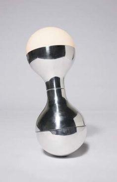 François Dallegret; Aluminum and Perspex 'Lumikiik' Self-Balancing Table Lamp, 1970.