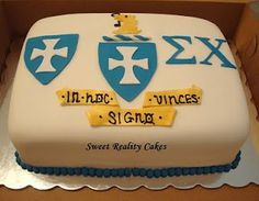 Sigma Chi grooms cake (needs to start dating first)