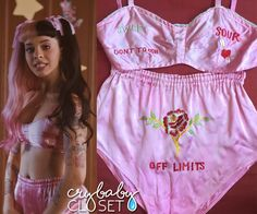 """Melanie in the """"Pacify Her"""" Music Video 