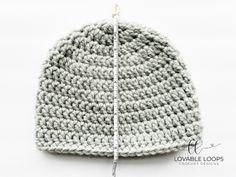Super Bulky Crochet Hat Pattern (free & easy) | Chunky Crochet Hat Basic Crochet Beanie Pattern, Chunky Crochet Hat, Beanie Knitting Patterns Free, Crochet Baby Hat Patterns, Crochet Baby Hats, Blanket Patterns, Crochet Hook Sizes Chart, Super Chunky Yarn, Easy