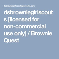1000 ideas about brownie quest on pinterest brownie