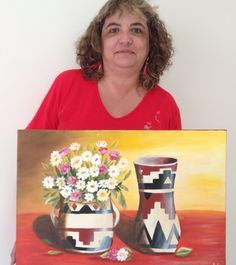Obra de María de los Ángeles, Profesora de Pintura Decorativa camada 2014.  #stilllife #art #decorativepainting