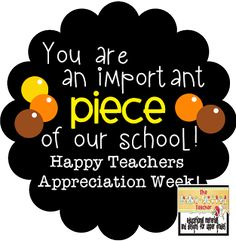 Teachers/Nurses Appreciation Week Gifts