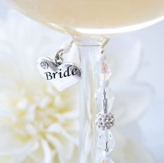 It's the little things that make a big impact. Stalice Bride and Groom Wine/Cocktail Glass Decorations. A special way to toast the bride & groom. www.stalice.com