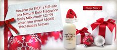 Holiday Promo - www.thelaudun.com FREE Organic Rose Milk Frost Body Milk/Body Lotion with your $60 purchase. Fabulous!