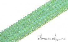 Swarovski style kristal kralen facet rondel ca. 3x2mm(Ha27)