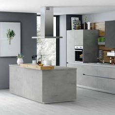 Kitchen Units, Kitchen Island, Interior Design Kitchen, Interior Decorating, Modern Ovens, Handleless Kitchen, Rustic Home Interiors, Built In Ovens, Sweet Home