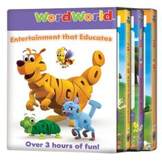 WordWorld Bear's Masterpiece/Flying Ant/Boppin' with the Bug Band DVD 3-Pack